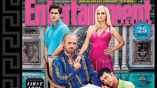 The Versace family